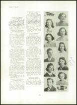 1940 Mt. Pleasant High School Yearbook Page 16 & 17