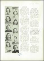 1940 Mt. Pleasant High School Yearbook Page 18 & 19