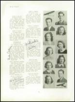 1940 Mt. Pleasant High School Yearbook Page 20 & 21