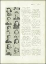 1940 Mt. Pleasant High School Yearbook Page 22 & 23