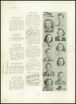 1940 Mt. Pleasant High School Yearbook Page 24 & 25