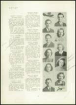1940 Mt. Pleasant High School Yearbook Page 28 & 29
