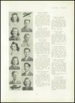 1940 Mt. Pleasant High School Yearbook Page 30 & 31