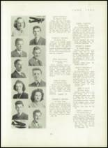 1940 Mt. Pleasant High School Yearbook Page 34 & 35