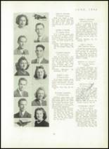 1940 Mt. Pleasant High School Yearbook Page 38 & 39