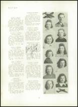 1940 Mt. Pleasant High School Yearbook Page 40 & 41