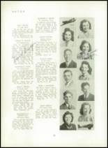 1940 Mt. Pleasant High School Yearbook Page 42 & 43