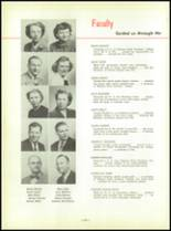 1952 North Huntington High School Yearbook Page 20 & 21