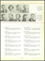 1952 North Huntington High School Yearbook Page 24 & 25