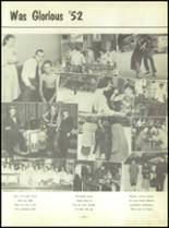 1952 North Huntington High School Yearbook Page 110 & 111