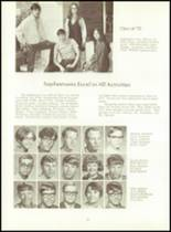 1970 Scott High School Yearbook Page 72 & 73