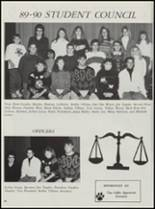 1990 Konawa High School Yearbook Page 70 & 71