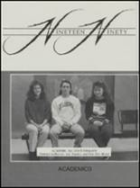 1990 Konawa High School Yearbook Page 84 & 85