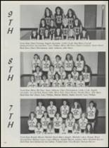 1990 Konawa High School Yearbook Page 108 & 109