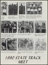 1990 Konawa High School Yearbook Page 114 & 115