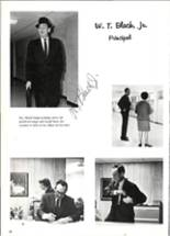 1969 Quitman High School Yearbook Page 20 & 21