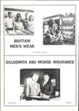 1969 Quitman High School Yearbook Page 166 & 167