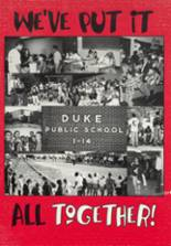 1996 Duke High School Yearbook Page 72 & 73