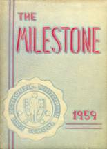 1959 Yearbook Plymouth Whitemarsh High School