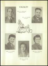 1950 Hale Center High School Yearbook Page 18 & 19