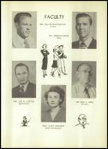 1950 Hale Center High School Yearbook Page 20 & 21