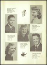 1950 Hale Center High School Yearbook Page 26 & 27