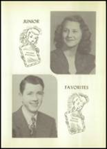 1950 Hale Center High School Yearbook Page 100 & 101