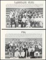 1981 Marshall High School Yearbook Page 110 & 111