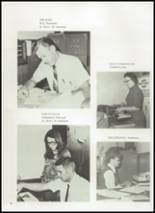1972 Gage High School Yearbook Page 10 & 11