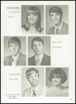1972 Gage High School Yearbook Page 50 & 51
