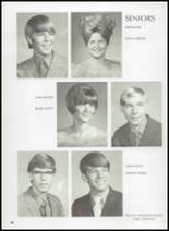 1972 Gage High School Yearbook Page 52 & 53