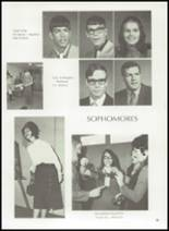 1972 Gage High School Yearbook Page 58 & 59
