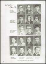 1972 Gage High School Yearbook Page 62 & 63