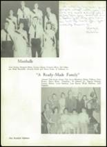 1962 Liberty High School Yearbook Page 122 & 123