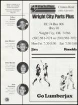 2002 Wright City High School Yearbook Page 124 & 125