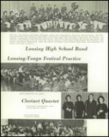 1962 Lansing High School Yearbook Page 50 & 51