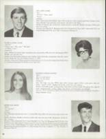 1970 South Fayette High School Yearbook Page 28 & 29