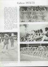 1973 Carter High School Yearbook Page 36 & 37