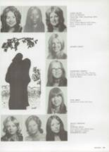 1973 Carter High School Yearbook Page 186 & 187