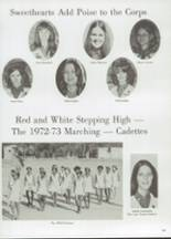 1973 Carter High School Yearbook Page 258 & 259