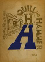 1953 Yearbook Haaren High School
