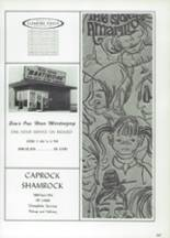 1968 Caprock High School Yearbook Page 270 & 271