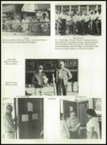 1981 Bayou Chicot High School Yearbook Page 32 & 33