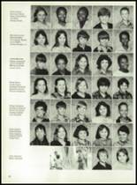 1981 Bayou Chicot High School Yearbook Page 42 & 43