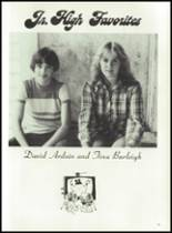 1981 Bayou Chicot High School Yearbook Page 56 & 57