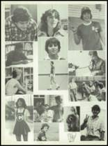 1981 Bayou Chicot High School Yearbook Page 58 & 59