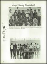 1981 Bayou Chicot High School Yearbook Page 62 & 63