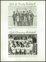 1981 Bayou Chicot High School Yearbook Page 64 & 65