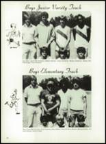 1981 Bayou Chicot High School Yearbook Page 68 & 69