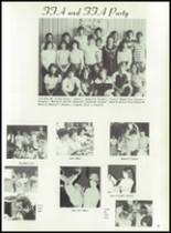 1981 Bayou Chicot High School Yearbook Page 86 & 87